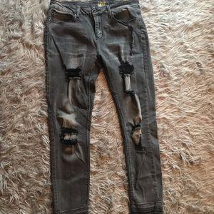 True Craft Distressed Jeans!